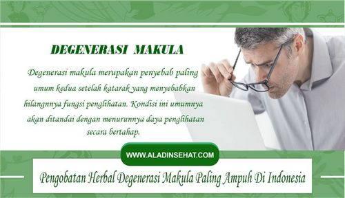 Penyebab Degenerasi Makula Lensa kontak